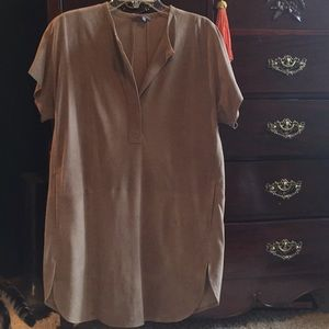 Vince Suede Tunic/Dress